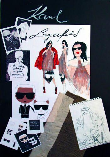 M. Maliňaková - Inšpirácia módnym návrhárom