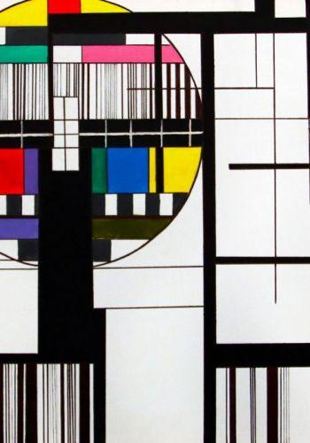 D. Štalmachová - Maľba inšpirovaná moderným umením