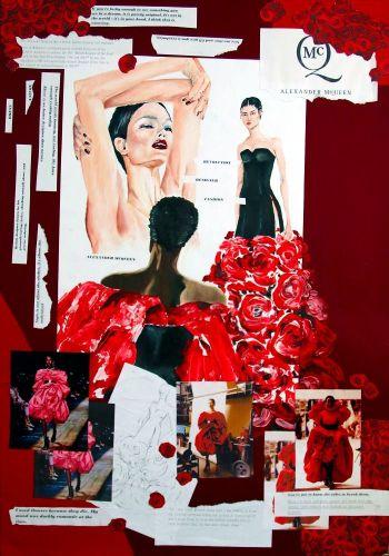 I. Kopačková - Inšpirácia módnym návrhárom