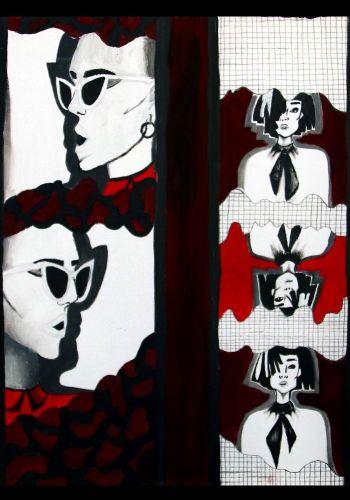 K. Štefančinová - Maľba inšpirovaná moderným umením