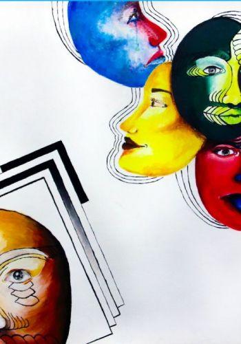 I. Kopačková - Maľba inšpirovaná moderným umením