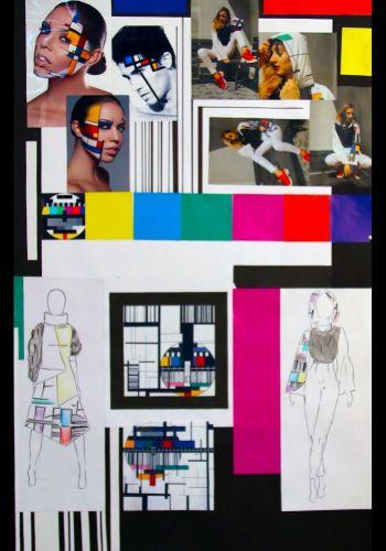 D. Štalmachová - Kolekcia inšpirovaná moderným umením