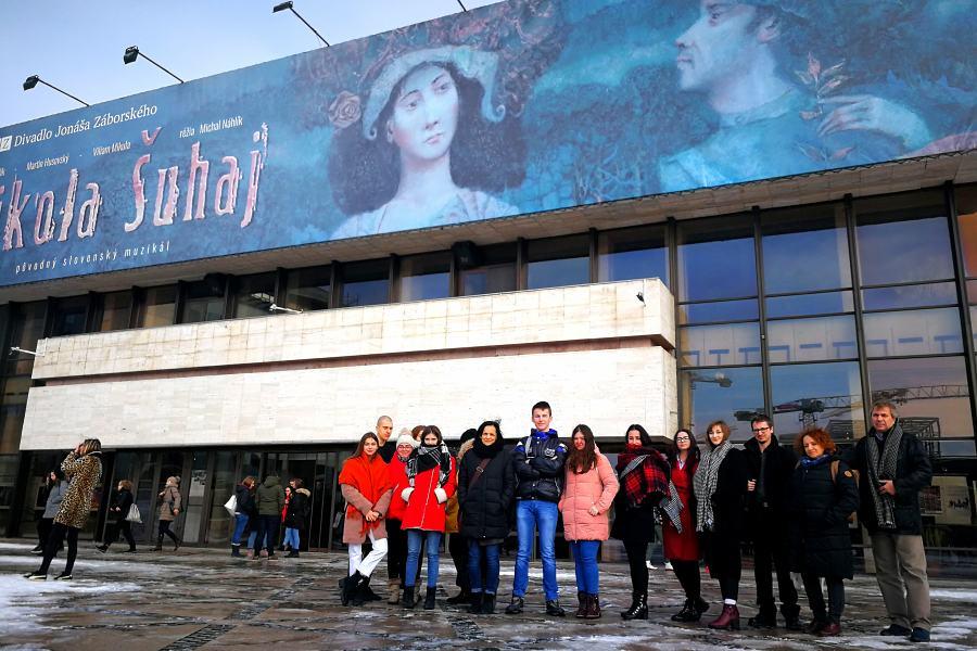 Návšteva divadla a galérie v Prešove