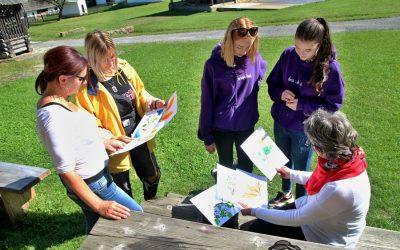 Študenti zo Školy umeleckého priemyslu absolvovali výtvarný plenér